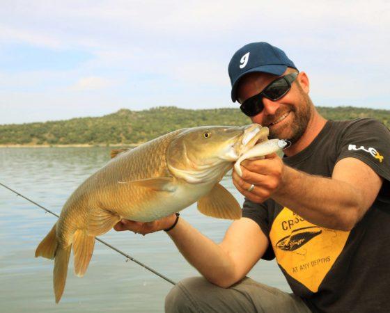Stéphane Quinton, guide de pêche en Espagne