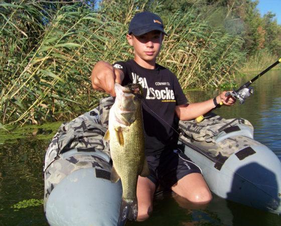 Pêche en famille extremadure