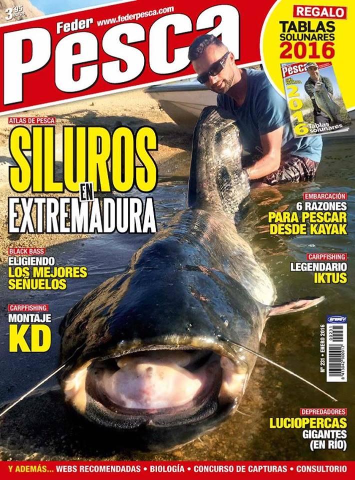 Zoilo Monterro, guide de pêche chez Extremadura Profishing