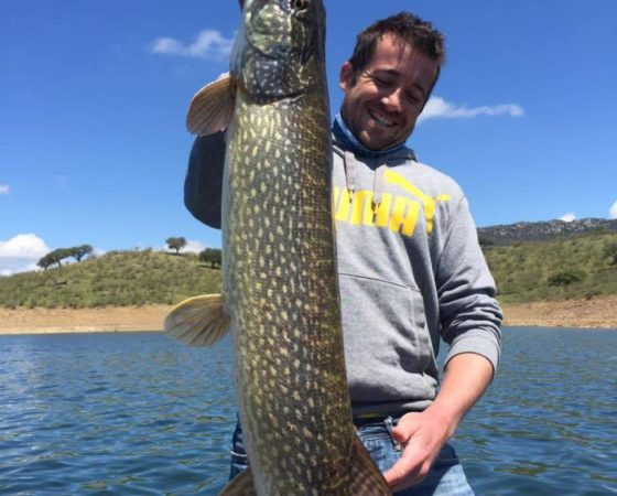 Pêche brochet Espagne